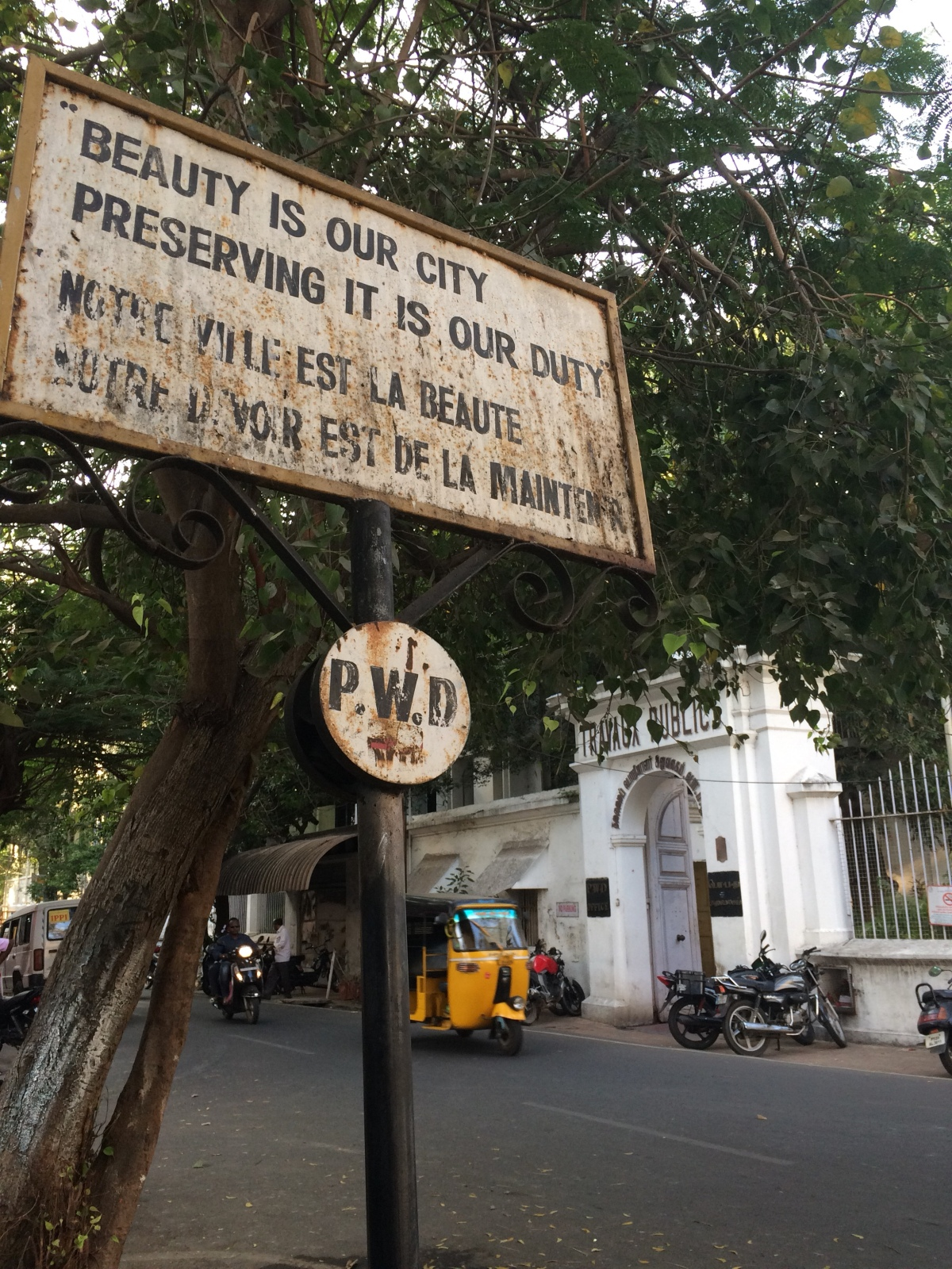 Pondicherry on the cake: the French colonial grandeur of Puducherry,India